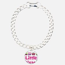 Little Sister Pink Train Bracelet