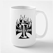 Fire Line IRON CROSS Pulaski Mug
