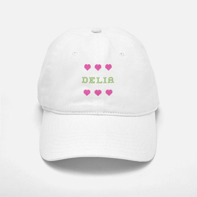 Delia Baseball Baseball Baseball Cap