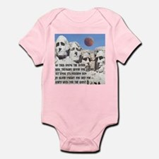 Mt. Rushmore The Quest Infant Bodysuit