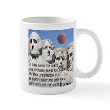 Mt. Rushmore The Quest Mug