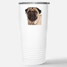 Pug Close-Up Travel Mug