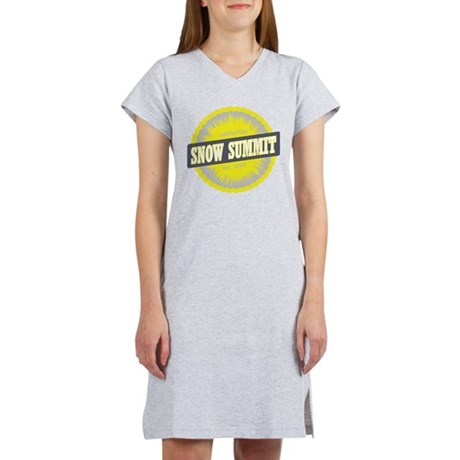 Snow Summit Ski Resort California Yellow Women's N