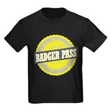 Badger Pass Ski Resort California Yellow T-Shirt