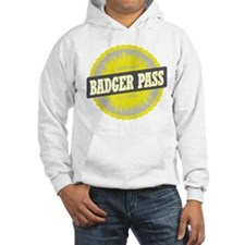 Badger Pass Ski Resort California Yellow Hoodie