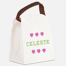 Celeste Canvas Lunch Bag