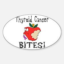 Thyroid Cancer Bites Decal