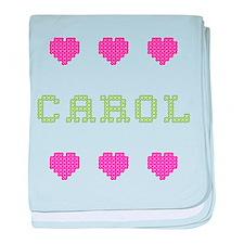 Carol baby blanket