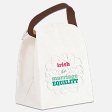 Irish for Equality Canvas Lunch Bag