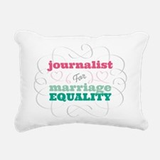 Journalist for Equality Rectangular Canvas Pillow