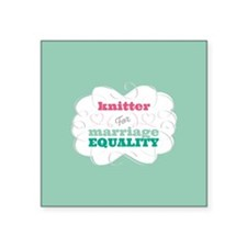 Knitter for Equality Sticker