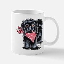 Black Pekingese Girl Mug