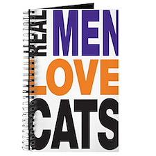 Real Men Love Cats Journal