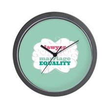 Lawyer for Equality Wall Clock