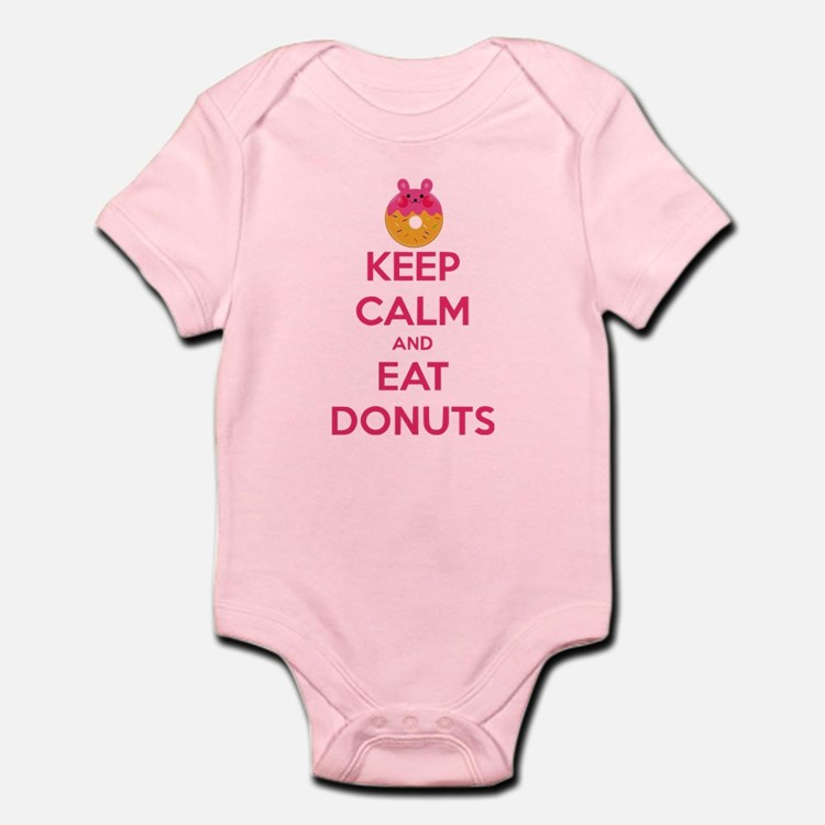 Keep Calm And Eat Donuts Body Suit
