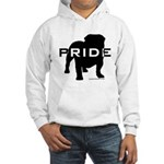 Bulldog Pride Logo Hooded Sweatshirt