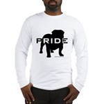 Bulldog Pride Logo Long Sleeve T-Shirt