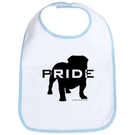 Bulldog Pride Logo Bib