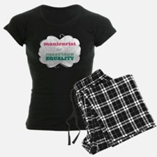 Manicurist for Equality Pajamas