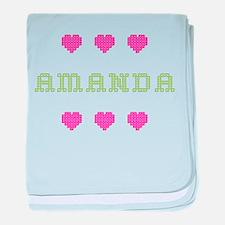 Amanda baby blanket