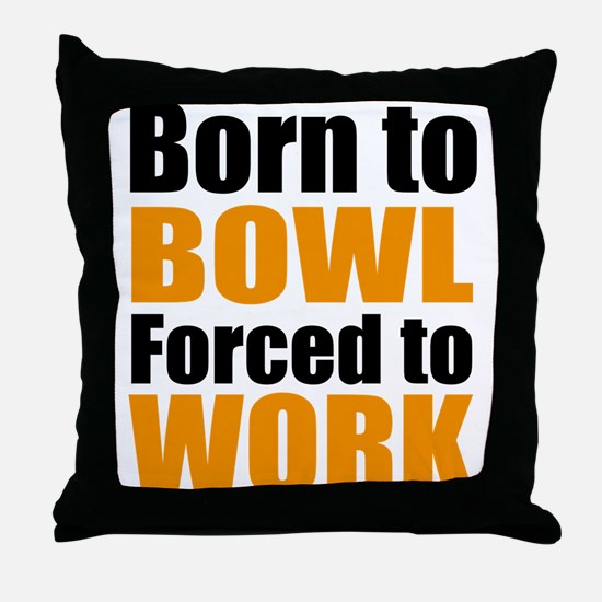 bowling Throw Pillow