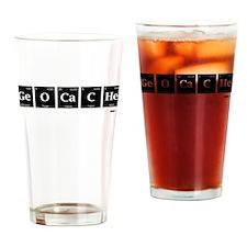 Geocache Drinking Glass
