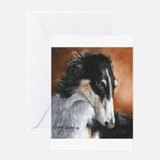 Borzoi Greeting Cards