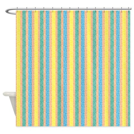 Blue And Yellow Striped Curtains Modern Yellow And Blue Stripe Grommet Curtain Pilota Beige