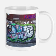 Wall spray painting art in Paris (Seine) 12 Mug