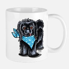 Black Pekingese Boy Mug