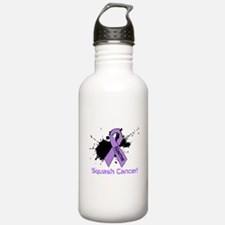 Personalize Squash Cancer Water Bottle