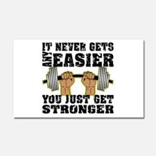 You Just Get Stronger Car Magnet 20 x 12