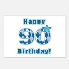 Happy 90th Birthday! Postcards (Package of 8)