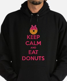Keep Calm And Eat Donuts Hoody