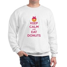 Keep Calm And Eat Donuts Jumper