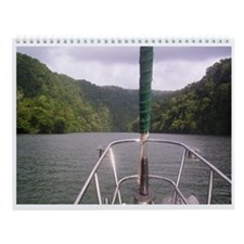 Sailing Valentina Wall Calendar