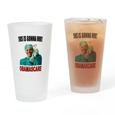 OBAMASCARE Drinking Glass