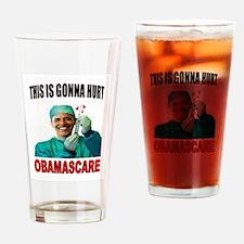 OBAMASCARE Drinking Glass