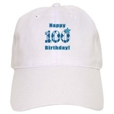 Happy 100th Birthday! Baseball Baseball Cap
