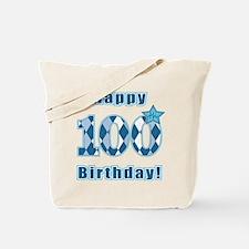 Happy 100th Birthday! Tote Bag