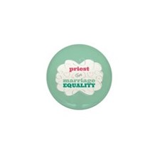 Priest for Equality Mini Button (10 pack)
