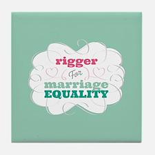 Rigger for Equality Tile Coaster