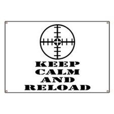 Keep Calm And Reload Banner