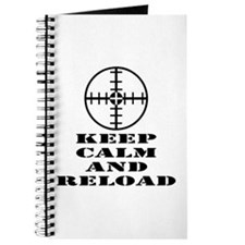 Keep Calm And Reload Journal
