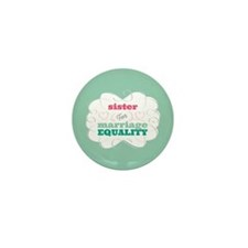 Sister for Equality Mini Button (10 pack)