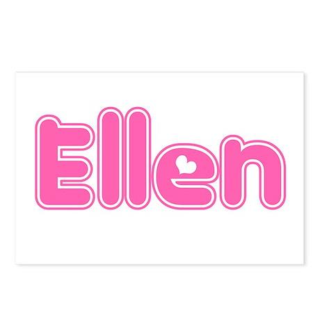 """Ellen"" Postcards (Package of 8)"