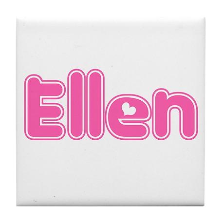 """Ellen"" Tile Coaster"