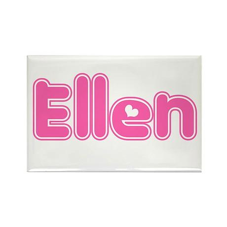 """Ellen"" Rectangle Magnet"