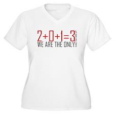 Class of 2013 Plus Size T-Shirt