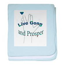 Live Gong And Prosper baby blanket